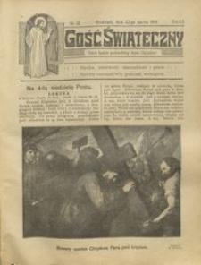 Gość Świąteczny 1914.03.22 R. XX nr 12