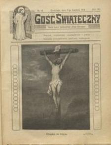 Gość Świąteczny 1914.04.05 R. XX nr 14