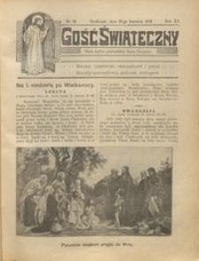 Gość Świąteczny 1914.04.19 R. XX nr 16