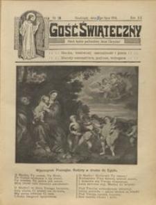 Gość Świąteczny 1914.07.12 R. XX nr 28