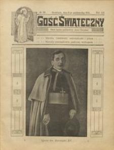 Gość Świąteczny 1914.10.11 R. XX nr 39