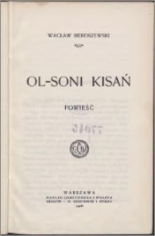 Ol-Soni Kisań : powieść