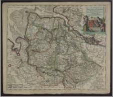 Ducatus Bremae & Ferdae maximaeque partis fluminis Visurgis descriptio per Cornelium Danckerts