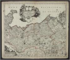 Ducatus Meklenburgicus in quo sunt Vandaliae et Meklenburgi comitatus et episcopatus Swerinensis Rostochiense et Stargardiense Domin