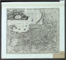 Magnae Prussiae Ducatus tabula denuo correcta et in lucen adita per Davidem Funck