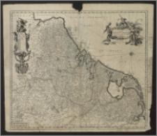 Novissima et accuratissima XVII provinciarum Germaniae Inferior tabula