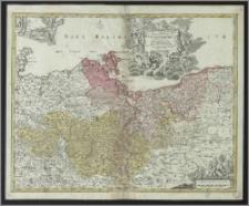Tabula Marchionatus Brandenburgici et Ducatus Pomeraniae que sunt pars septentrionalis Circuli Saxoniae Superioris