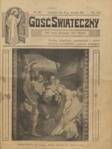 Gość Świąteczny 1915.11.21 R. XXI nr 47