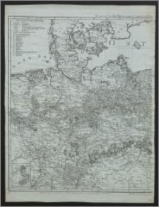 General Karte König: Preussischen Staaten nach den neuesten und zuverlÄssigsten Hülfsmitteln auf das genauste entworten und herausgegeben im Jahre 1799