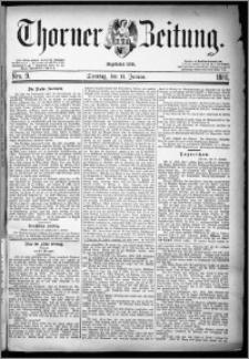 Thorner Zeitung 1880, Nro. 9 + Beilage