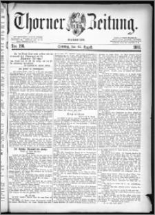 Thorner Zeitung 1880, Nro. 196