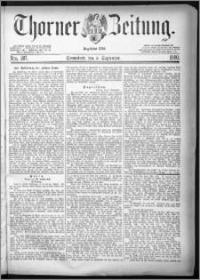 Thorner Zeitung 1880, Nro. 207
