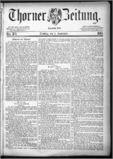 Thorner Zeitung 1880, Nro. 209