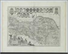 Ducatus Eboracensis paers Borealis. The Northriding of York Shire