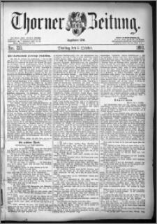 Thorner Zeitung 1880, Nro. 233