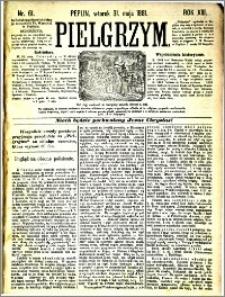 Pielgrzym, pismo religijne dla ludu 1881 nr 61