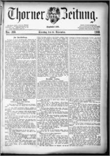 Thorner Zeitung 1880, Nro. 268 + Beilage