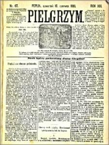 Pielgrzym, pismo religijne dla ludu 1881 nr 67