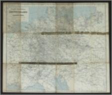 Eisenbahn-Übersichtskarte von Deutschland und den angrenzenden Ländern : (zum Reichskursbuch)