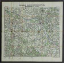 Mapa samochodowa Rzeczypospolitej Polskiej. Arkusz 7, Warszawa