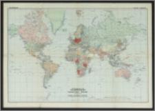 Gea-Weltkarte