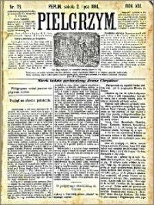 Pielgrzym, pismo religijne dla ludu 1881 nr 73