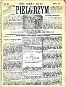 Pielgrzym, pismo religijne dla ludu 1881 nr 78