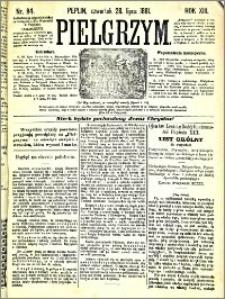 Pielgrzym, pismo religijne dla ludu 1881 nr 84