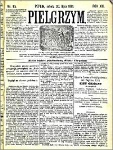 Pielgrzym, pismo religijne dla ludu 1881 nr 85