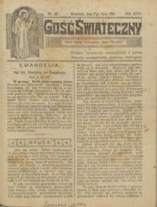 Gość Świąteczny 1918.07.07 R. XXIV nr 27