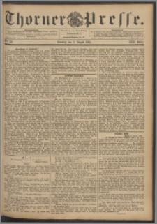 Thorner Presse 1895, Jg. XIII, Nro. 181 + 1. Beilage, 2. Beilage