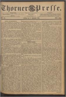 Thorner Presse 1895, Jg. XIII, Nro. 215