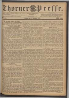 Thorner Presse 1895, Jg. XIII, Nro. 254 + Beilage