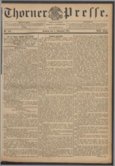 Thorner Presse 1895, Jg. XIII, Nro. 259