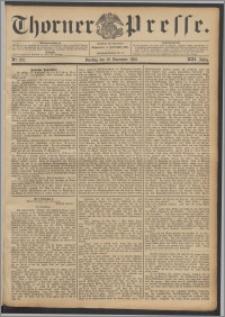 Thorner Presse 1895, Jg. XIII, Nro. 272