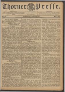 Thorner Presse 1895, Jg. XIII, Nro. 275 + Beilage