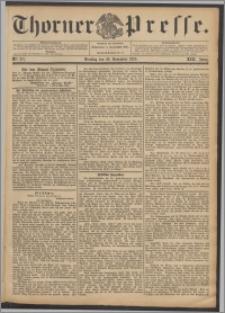 Thorner Presse 1895, Jg. XIII, Nro. 277 + Beilage, Beilagenwerbung