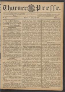 Thorner Presse 1895, Jg. XIII, Nro. 284 + Beilage