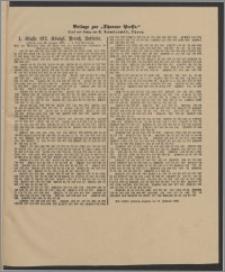 Thorner Presse: 1 Klasse 192. Königl. Preuß. Lotterie 10 Januar 1895 3. Tag