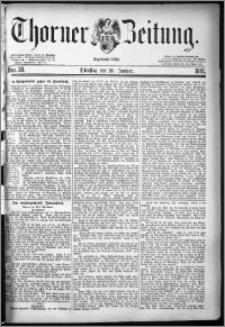 Thorner Zeitung 1881, Nro. 20