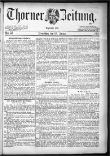 Thorner Zeitung 1881, Nro. 22