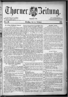 Thorner Zeitung 1881, Nro. 38