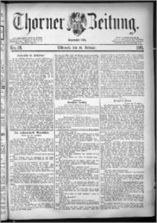 Thorner Zeitung 1881, Nro. 39