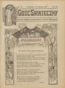 Gość Świąteczny 1924.04.20 R. XXVIII nr 16