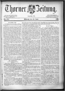 Thorner Zeitung 1881, Nro. 142