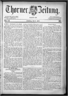 Thorner Zeitung 1881, Nro. 152 + Beilage
