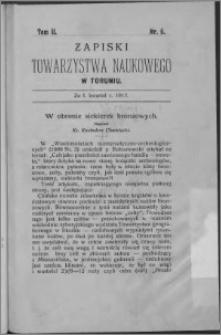 Zapiski Towarzystwa Naukowego w Toruniu, T. 2 nr 5, (1912)