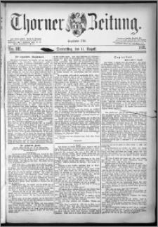 Thorner Zeitung 1881, Nro. 185