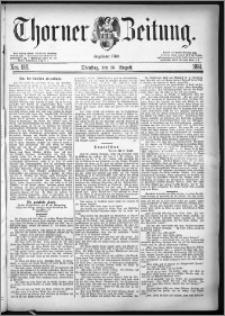 Thorner Zeitung 1881, Nro. 189