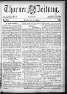 Thorner Zeitung 1881, Nro. 195